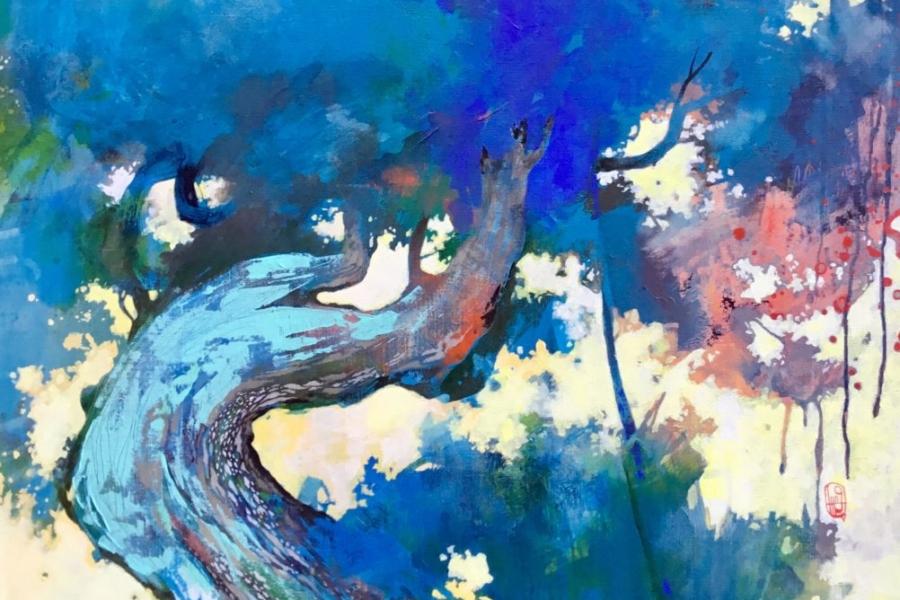 EDA, peintre, Tang, art