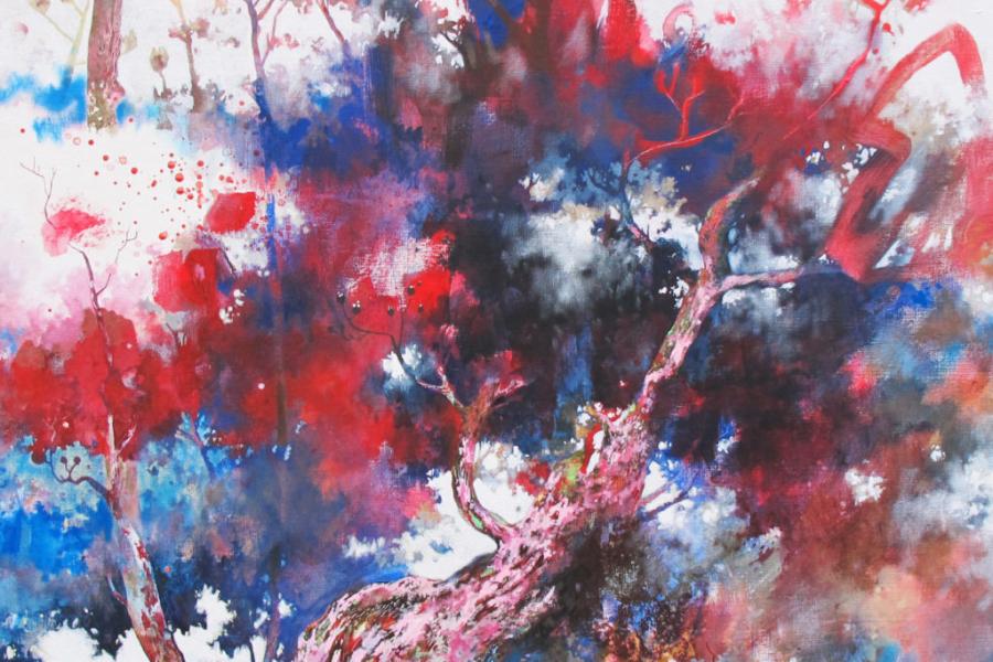 Eda, peinture, artiste