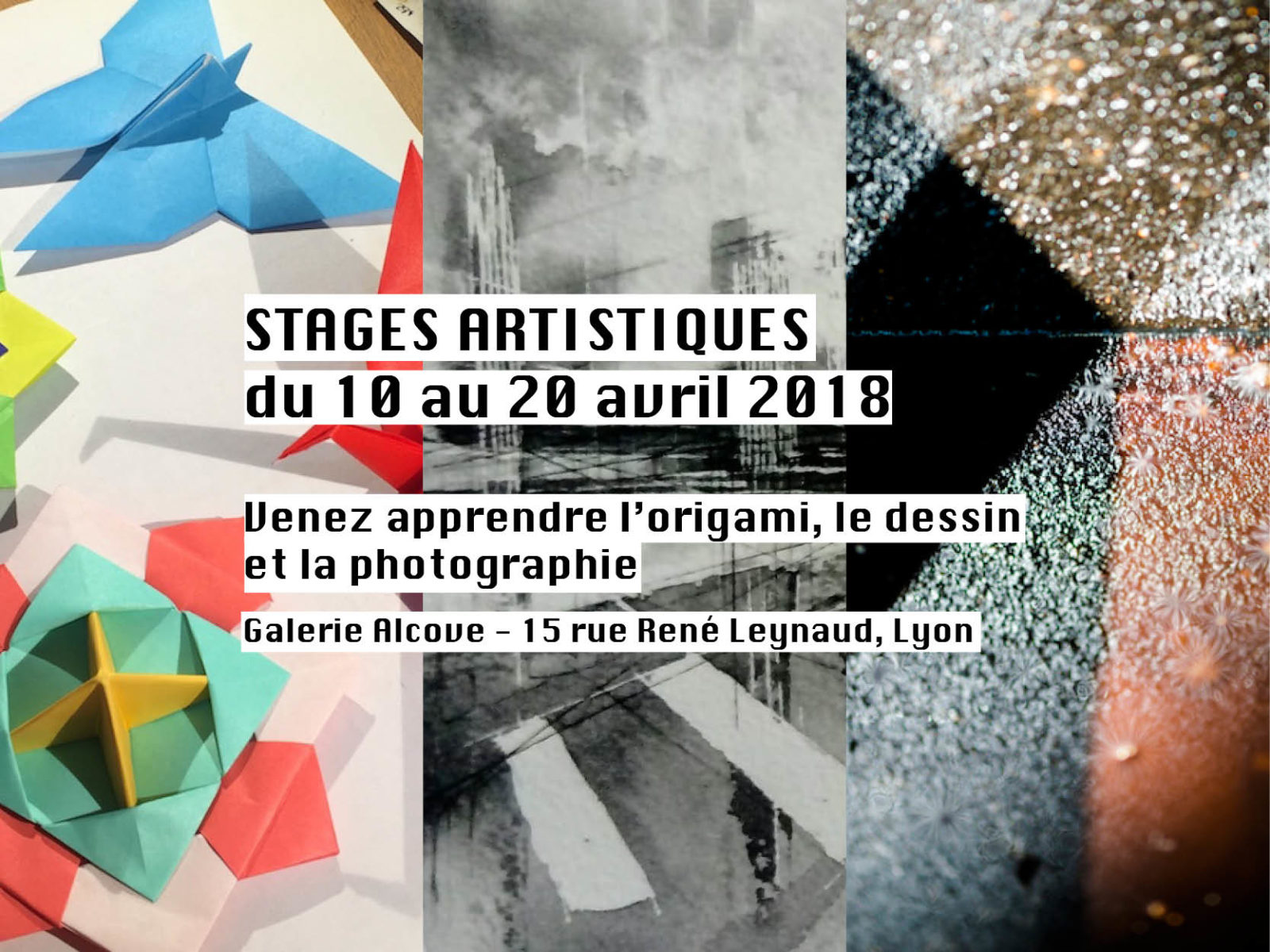 stages, Lyon, galerie