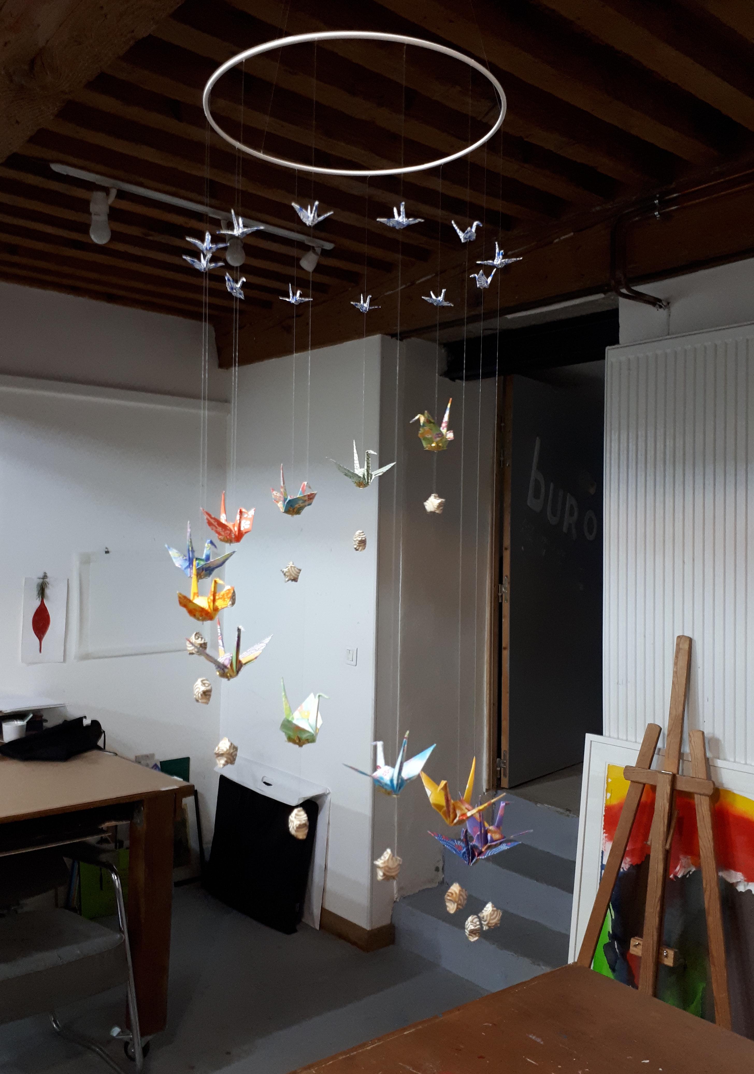 origami, galerie, Alcove