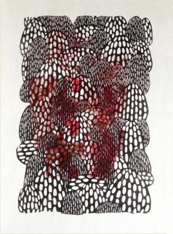 galerie, art, linographie