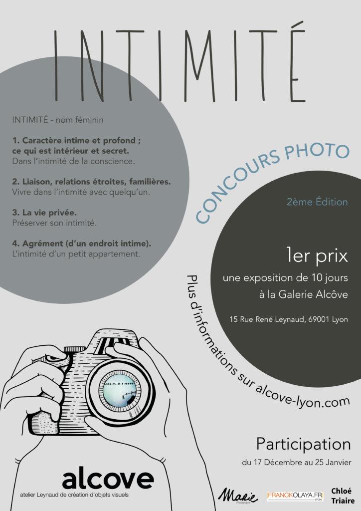 affiche concours photo galerie alcôve