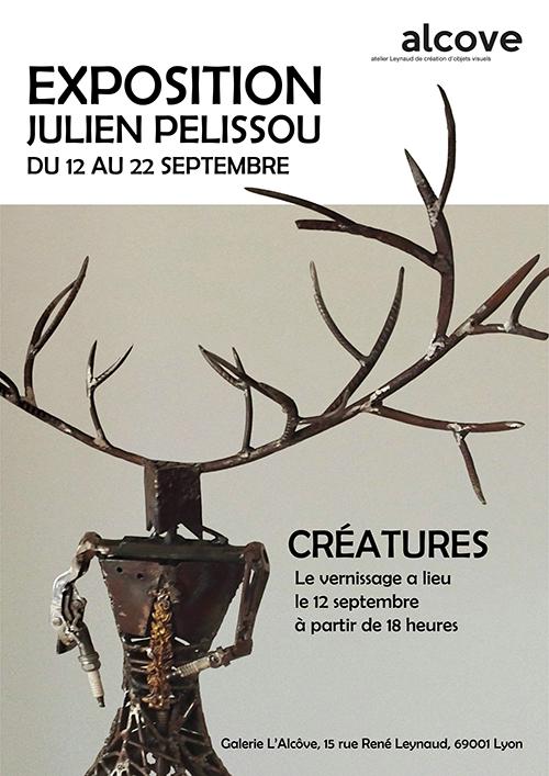 Exposition Julien Pelissou Créatures