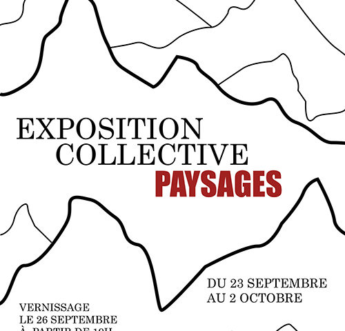 Exposition collective paysages Lyon