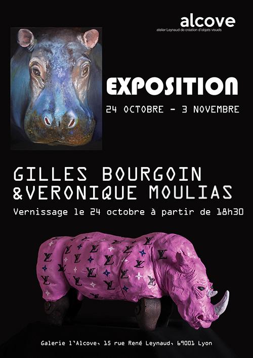 Exposition Gilles Bourgoin Véronique Moulias
