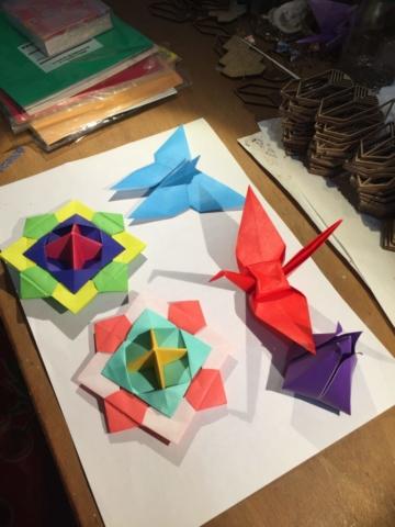 origami, art, stage, lyon