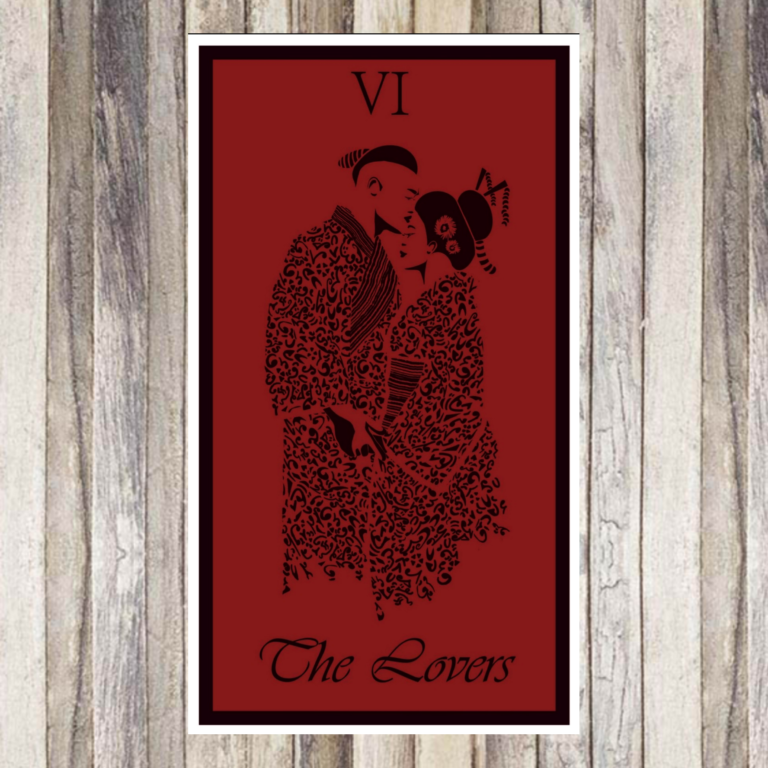 L'amoureux - Tarot